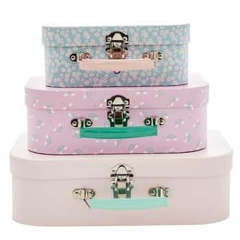 Dětský kufřík Pink Rice 3 varianty