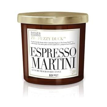 Vonná svíčka ve skle Fuzzy Duck 360g - Espresso Martini