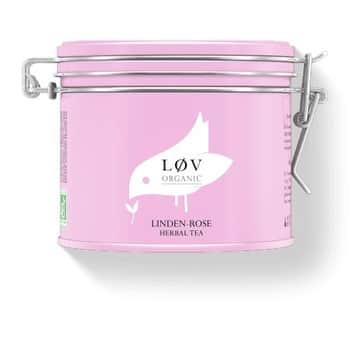 Sypaný čaj Linden-Rose 100g