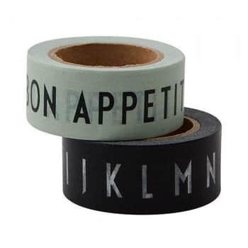 Designové lepicí pásky BON APPETIT - 2ks