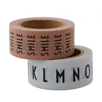 Designové lepicí pásky SMILE - 2ks