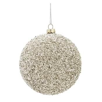 Vánoční baňka Rocks Silver
