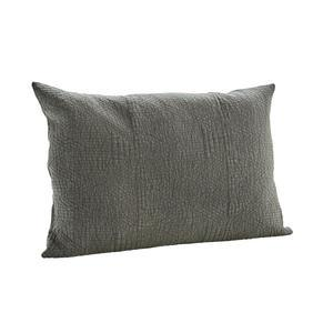 Obliečka na vankúš Quilted Cushion Charcoal