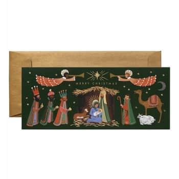 Vánoční přání Holiday Nativity