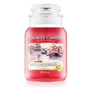Svíčka Yankee Candle 623 gr - Frosty Gingerbread