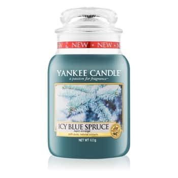 Svíčka Yankee Candle 623 gr - Icy Blue Spruce