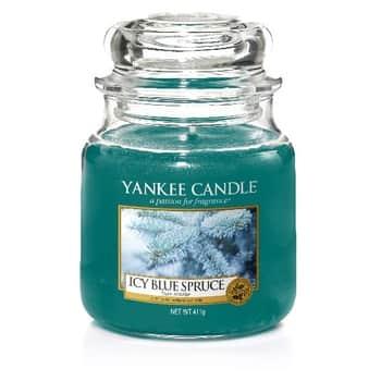 Sviečka Yankee Candle 411gr -Icy Blue Spruce
