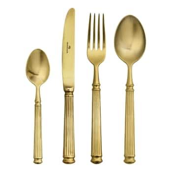 Sada příborů Cutlery Gold 4 ks