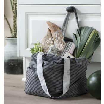 Bavlněná taška Grey Stripes