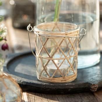 Svícen Handle Bamboo