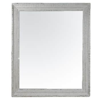 Zrkadlo vdrevenom ráme Antique 109x92 cm