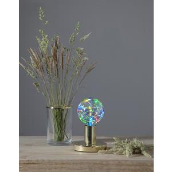 Dekoratívna LED žiarovka Twinkling RGB