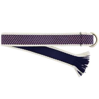 Tkaný opasok Wowen White & Blue