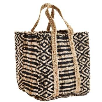Dekorativní taška Black/Natural