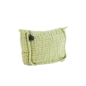 Kozmetická taštička Linen Apple Green