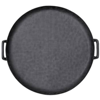 Hliníkový tác Black Aluminium Ø 54 cm