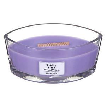 Vonná svíčka WoodWick - Lavender Spa 454g