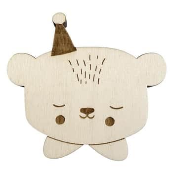Dětský dřevěný věšák Circus Bear