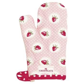 Detská chňapka Strawberry pale pink