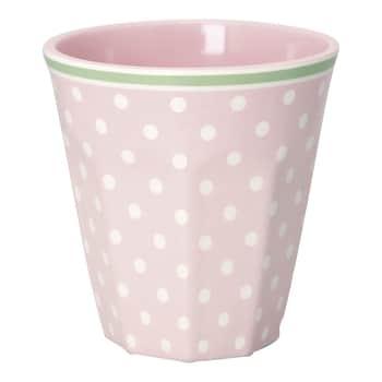 Melaminový hrneček Spot Pale Pink