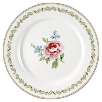 Obědový talíř Lily Petit White