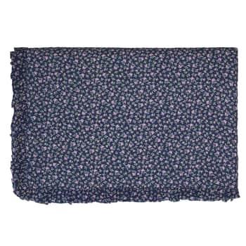 Prešívaný prehoz Berta dark blue 140x220cm