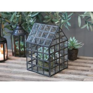 Skleněný box Greenhouse Black Iron