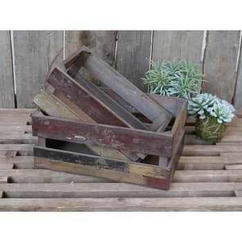 Dřevěná bedýnka Old French Apple Box