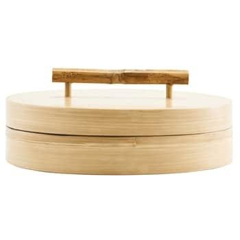 Bambusová dóza svekom 20x6 cm