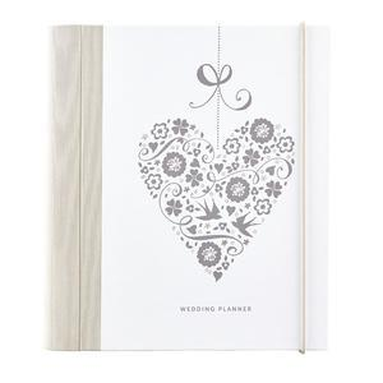 Svadobný plánovač Wedding Planner Heart