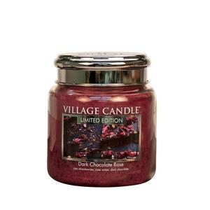 Sviečka Village Candle - Dark Chocolate Rose 92gr