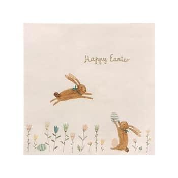 Velikonoční papírové ubrousky Happy Easter 16ks