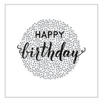 Papírové ubrousky Happy Birthday 20 ks