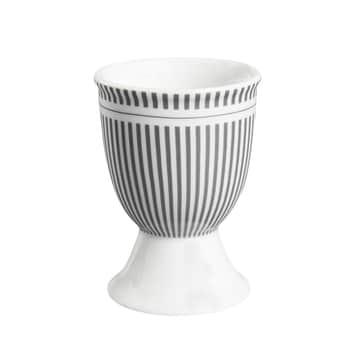Stojánek na vajíčko Grey Stripes