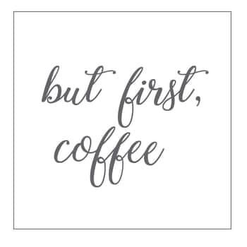 Papírové ubrousky But First Coffee