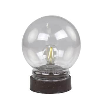 Stolná dekoratívna lampička Antique Coal