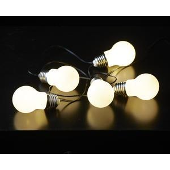 Svetelná LED reťaz White Bulbs