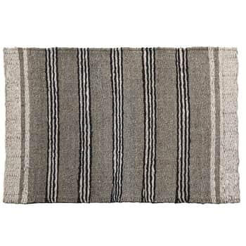 Slaměný kobereček White Border 60x90 cm