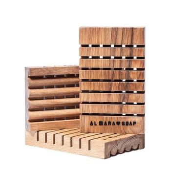 Dřevěná mýdlenka zbřezového dřeva