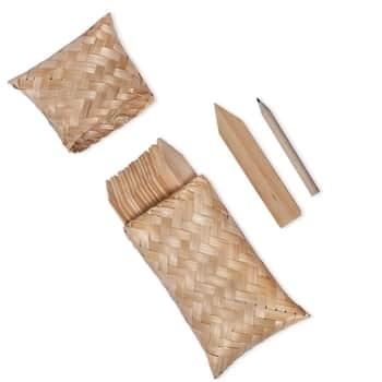 Zápichy na bylinky spouzdrem Bamboo - set 18 ks