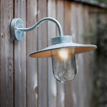 Venkovní lampa Swan Neck