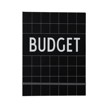 Zápisník na finance Budget