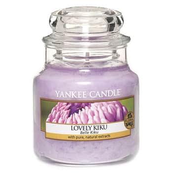 Svíčka Yankee Candle 104g - Lovely Kiku