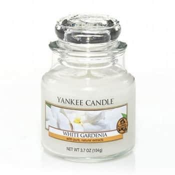 Svíčka Yankee Candle 104g - White Gardenia