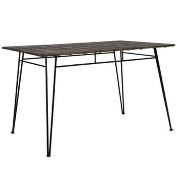 Zahradní stůl Noir Iron Table 120 x 80 cm