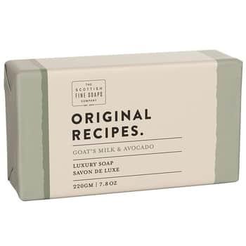 Luxusní tuhé mýdlo Kozí mléko aavokádo - 220g
