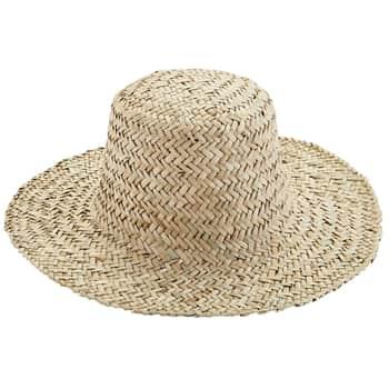 Slamený klobúk Straw Natural