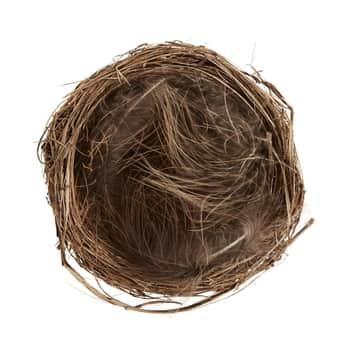 Dekorativní ptačí hnízdečko spírky