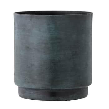 Hliníkový obal na květináč Aluminum Green