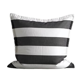 Obliečka na vankúš Black White 60x60cm